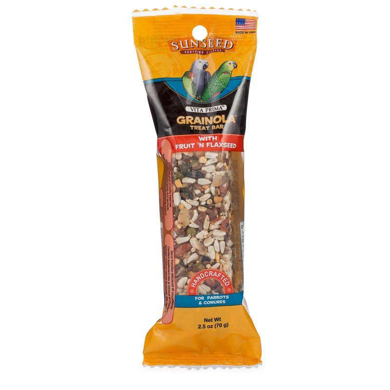 Sunseed Vita Prima Grainola Treat Bar with Fruit 'n Flaxseed