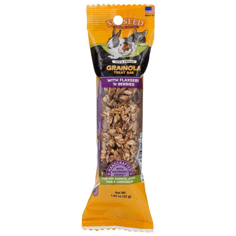 Sunseed Vita Prima Grainola Treat Bar with Flaxseed 'n Berries