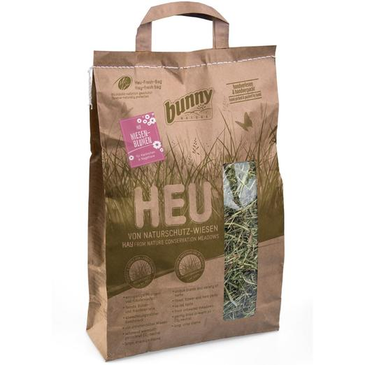Bunny Nature Hay with Meadow Flowers 250g