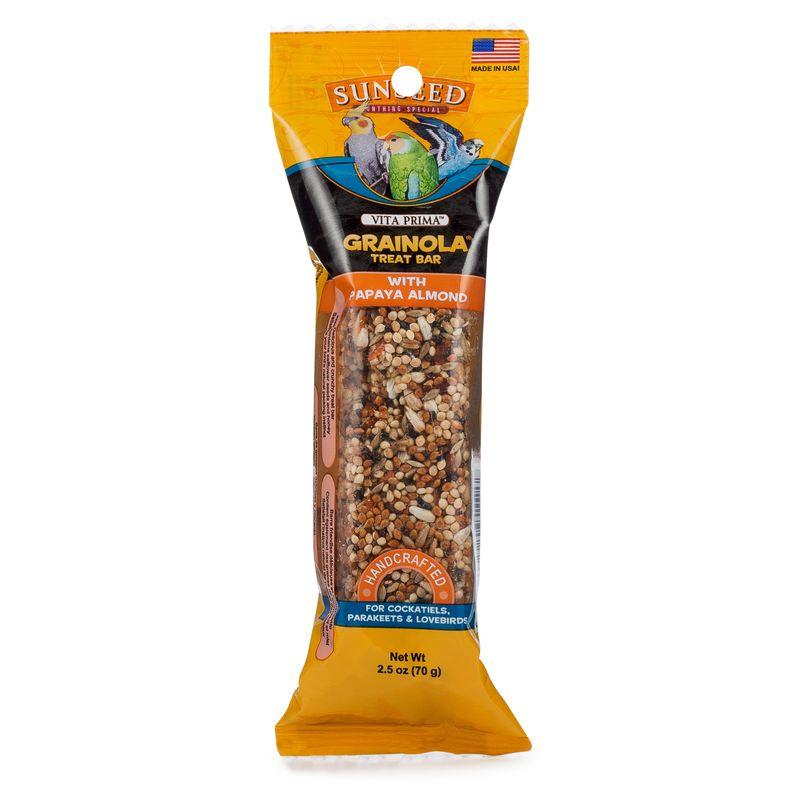 Sunseed Vita Prima Grainola Treat Bar with Papaya Almond