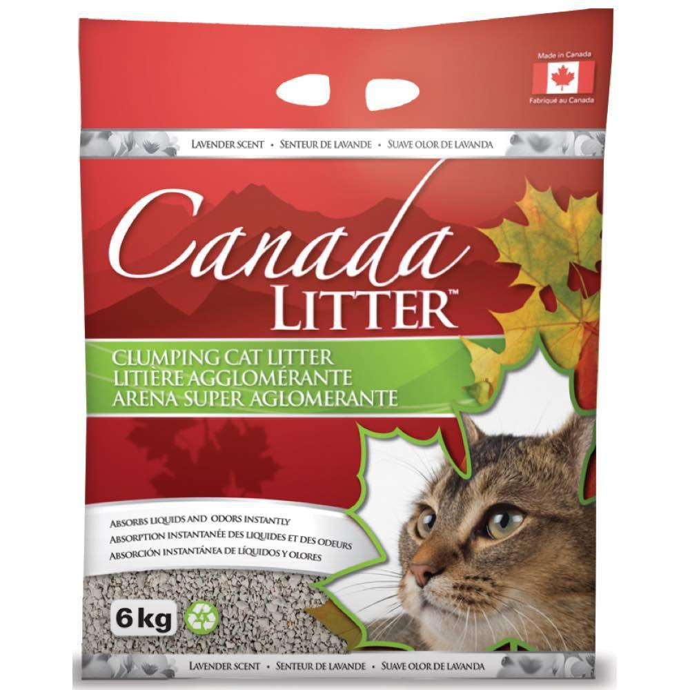 Canada Clumping Clay Cat Litter - Lavender Scent