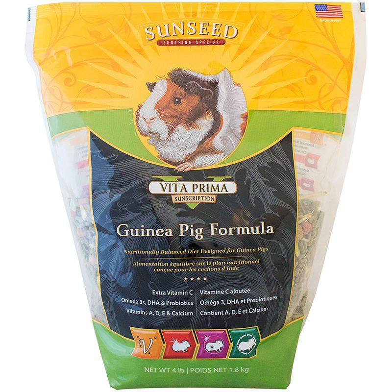 Sunseed Vita Prima Sunscription Guinea Pig Formula 4lb