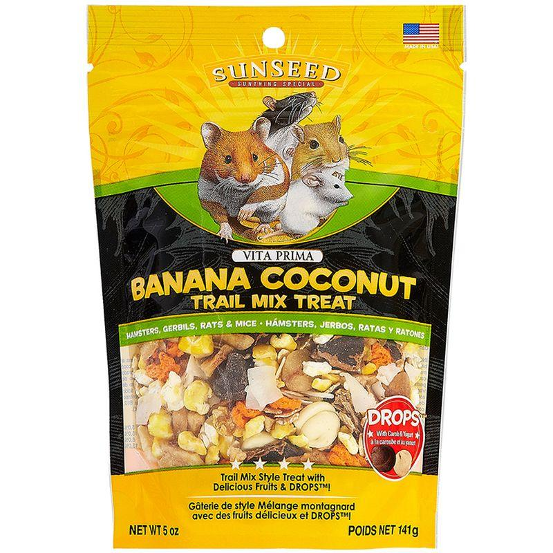 Sunseed Vita Prima Banana Coconut Trail Mix Treat 5oz
