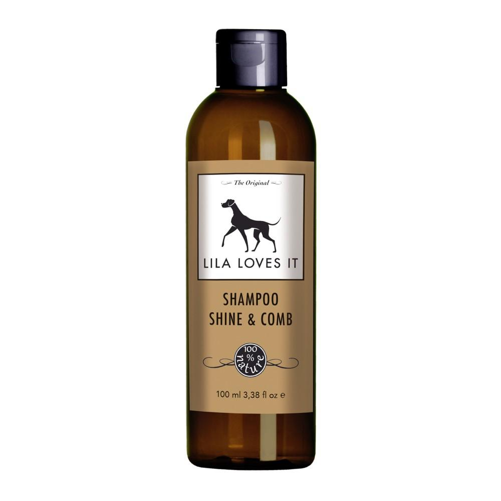 Lila Loves It Shine & Comb Concentrated Dog Shampoo 250ml