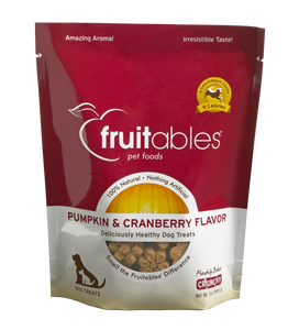Fruitables Pumpkin & Cranberry 7oz