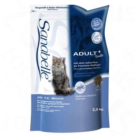 Sanabelle Adult With Fine Trout Dry Cat Food