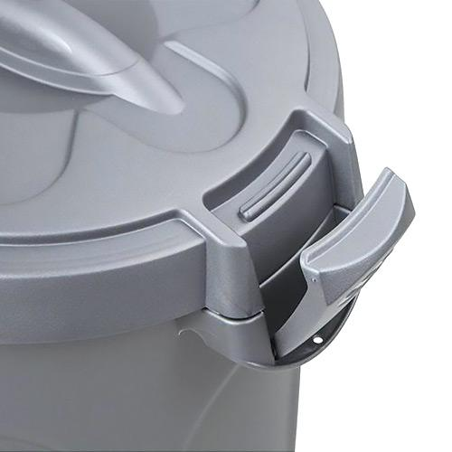 Stefanplast Food Container Silver 8L