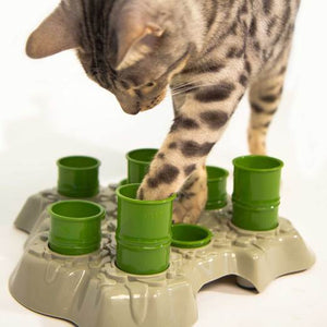 Aikiou Stimulo Interactive Cat Feeder