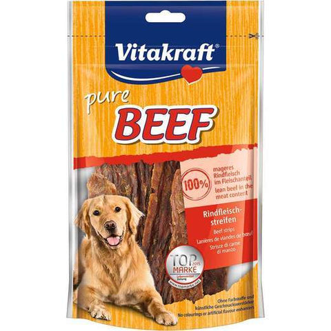 Vitakraft Beef Strips 80g