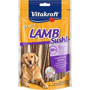 Vitakraft Lamb Sushi Strips with Fish 80g