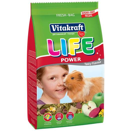 Vitakraft Life Power Guinea Pig 600g