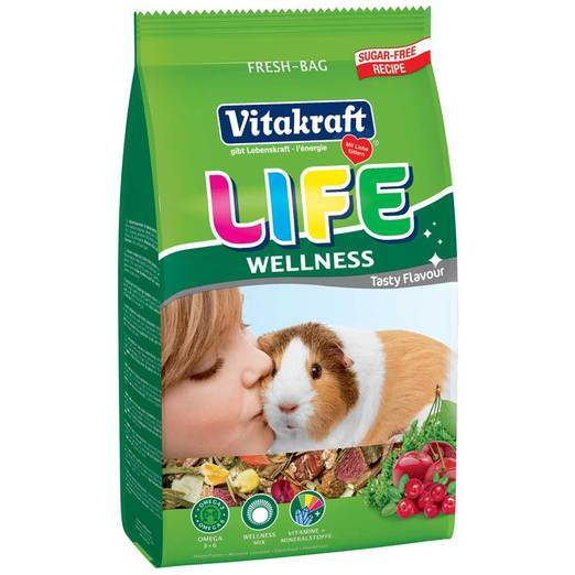 Vitakraft Life Wellness for Guinea Pig 600g