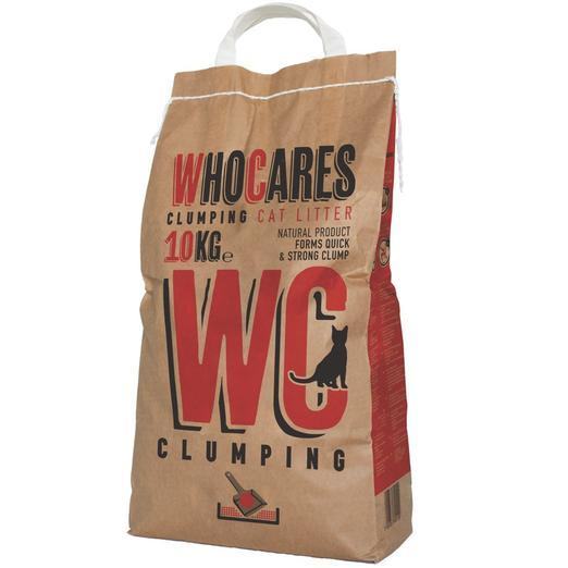Who Cares Clumping Cat Litter (5kg, 10kg)