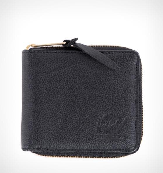 Herschel Walt Leather Wallet Black