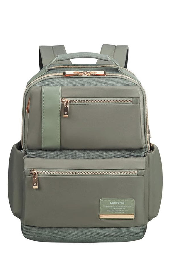 SAMSONITE OPENROAD LADY LAPTOP BACKPACK OLIVE GREEN