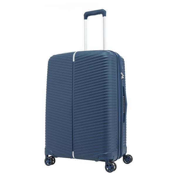 SAMSONITE VARRO 68CM SPINNER PEACOCK BLUE