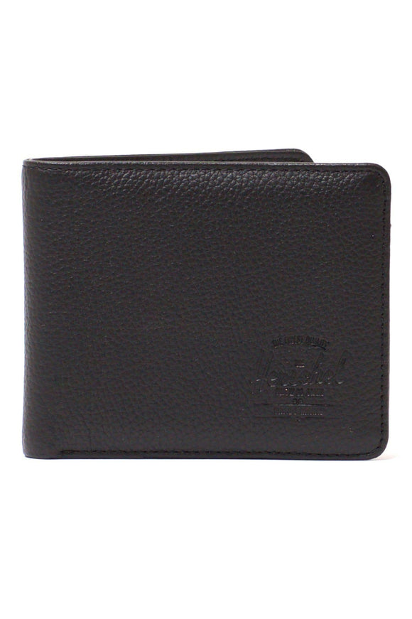 Herschel Hank Leather Wallet Black