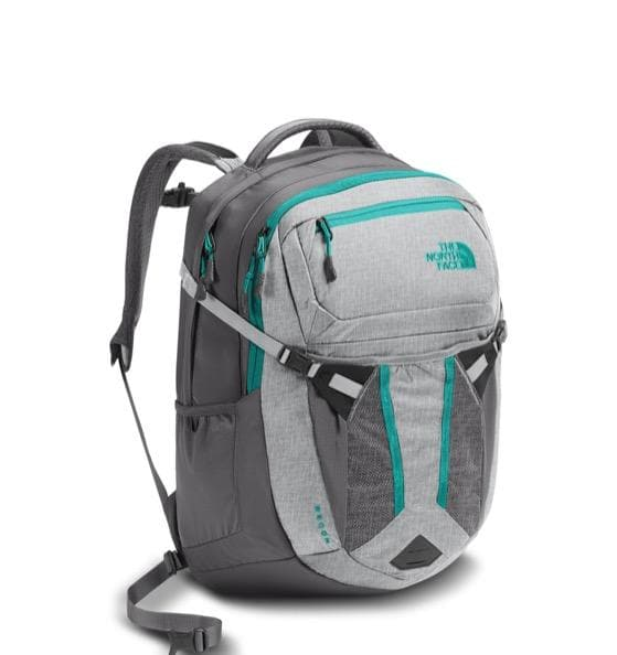 THE NORTH FACE RECON W BACKPACK GLACIER GREY / POOL GREEN
