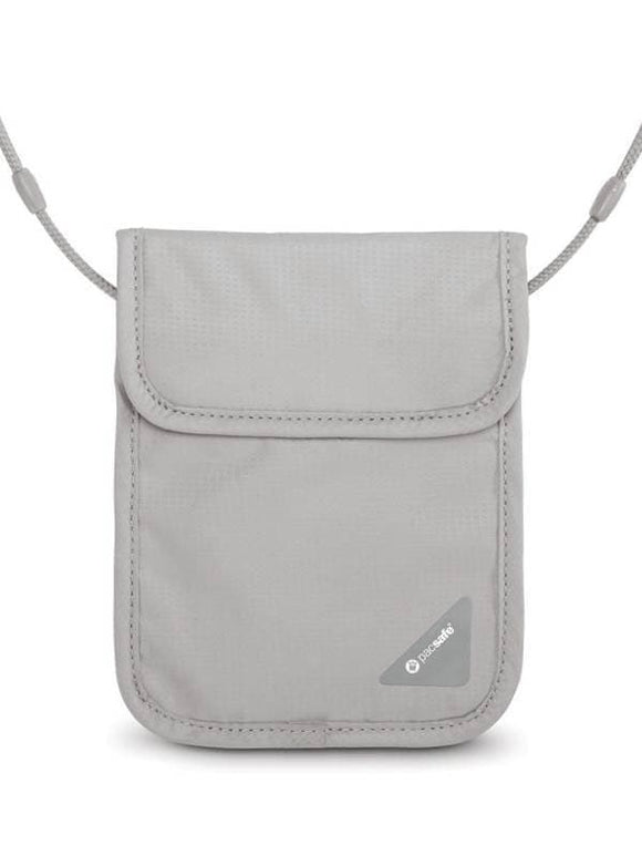 Pacsafe Coversafe X75 RFID-Blocking Neck Pouch Grey