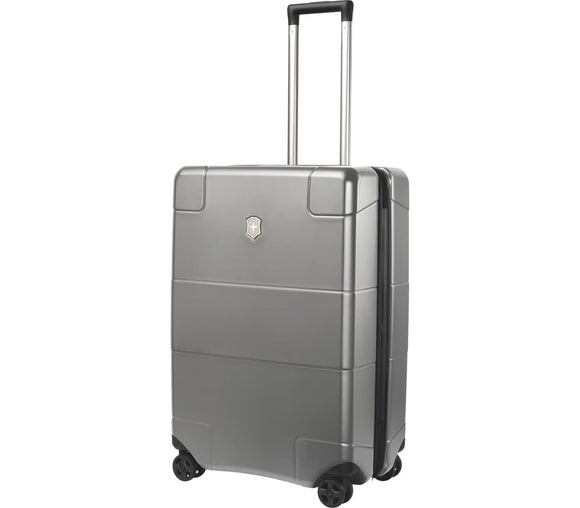 VICTORINOX LEXICON MEDIUM HARDSIDE CASE TITANIUM