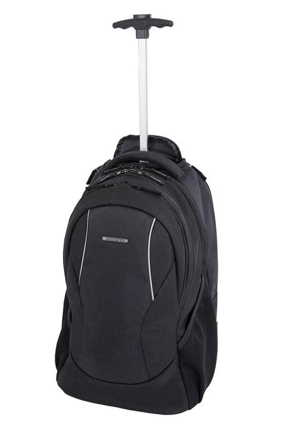 Samsonite Business Casual Wheeled Backpack Black