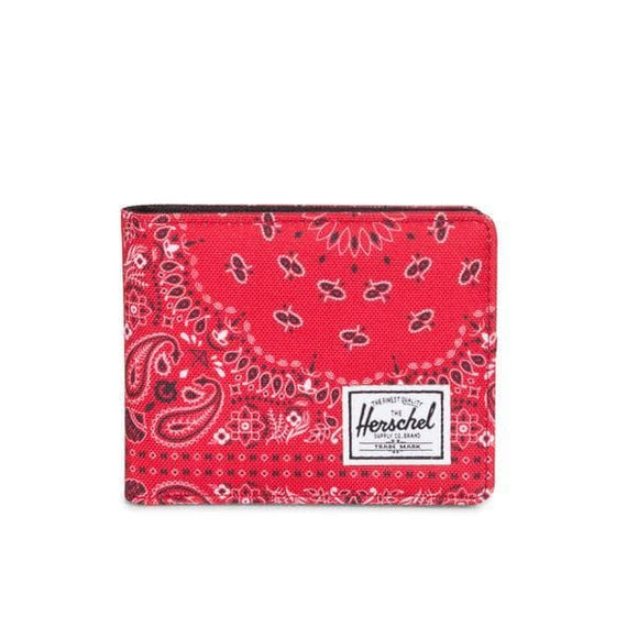 Herschel Roy Fold Wallet Red Bandana