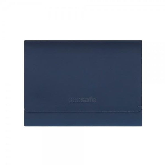 Pacsafe RFIDsafe TEC Trifold Wallet Navy