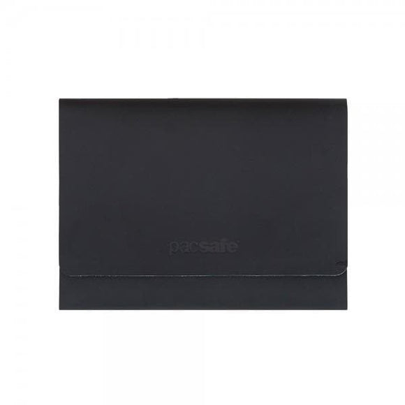 Pacsafe RFIDsafe TEC Trifold Wallet Black