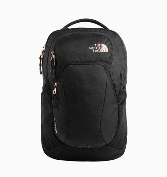 THE NORTH FACE PIVOTOR BACKPACK BLACK HEATHER BURNT
