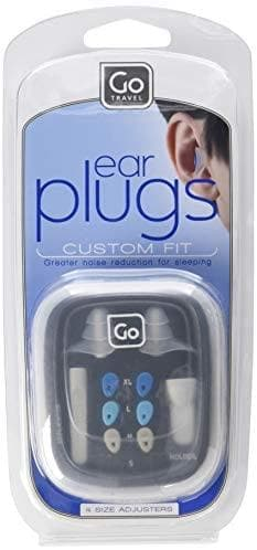 GO TRAVEL EAR PLUGS CUSTOM FIT