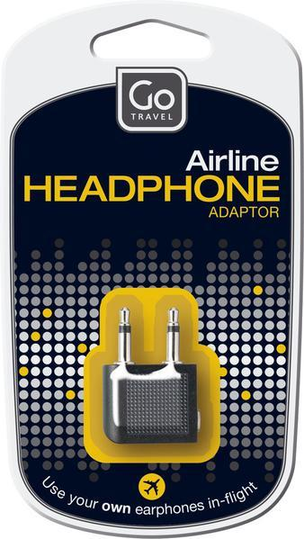GO TRAVEL HEADPHONE ADAPTOR