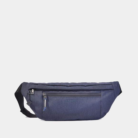 HEDGREN MIDWAY ATOLL BUM BAG DARK BLUE