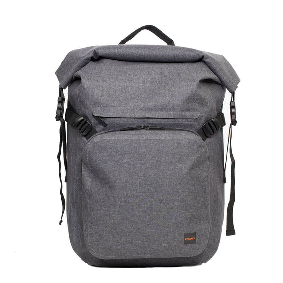 KNOMO THAMES HAMILTON WATER RESISTANT ROLL TOP LAPTOP BACKPACK 14 INCH GREY