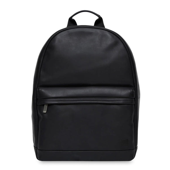 Knomo Barbican Albion Leather Backpack Black