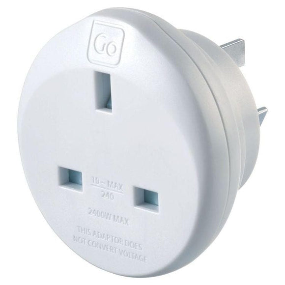 GO TRAVEL UK AUS ADAPTOR