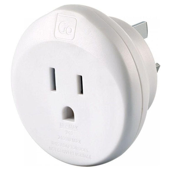 GO TRAVEL USA AUS ADAPTOR