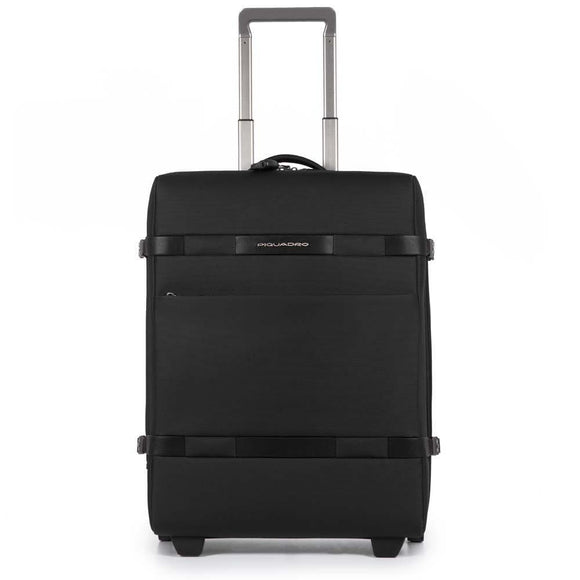 PIQUADRO MOVE2 SLIM CABIN TROLLEY CASE BLACK