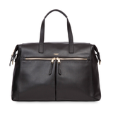 KNOMO MAYFAIR LUXE AUDLEY LEATHER BLACK