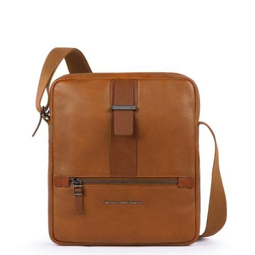 Piquadro Bae Medium Size Crossbody Bag Tobacco
