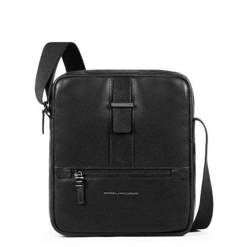 Piquadro Bae Medium Size Crossbody Bag Black