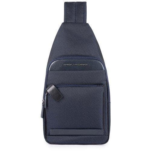 PIQUADRO SLING CROSS BODY BAG NAVY