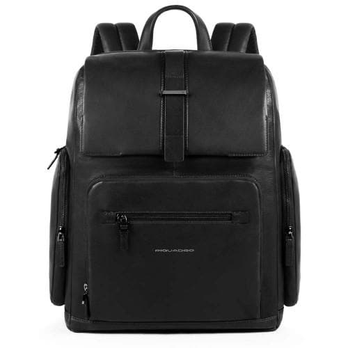 Piquadro Bae Big Size Computer Backpack Black
