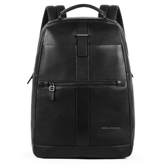 Piquadro Bae Fast Check Computer Backpack Black