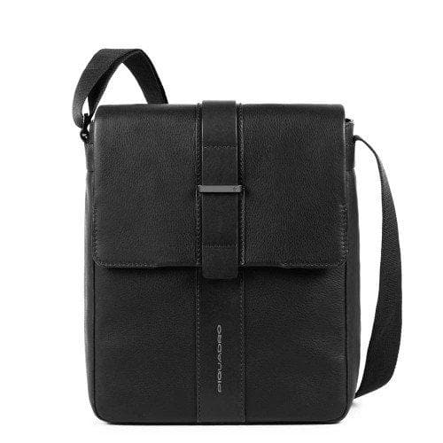 PIQUADRO CROSS BODY BAG BLACK