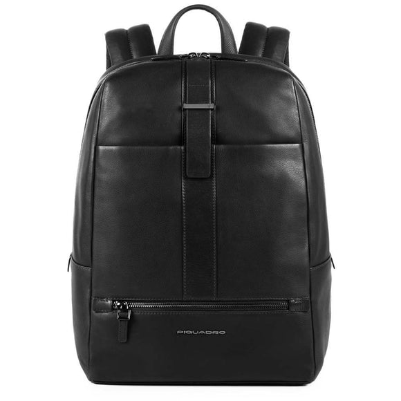 Piquadro Bae Small Computer Backpack Black