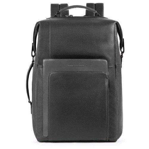 PIQUADRO LARGE BACKPACK BLACK