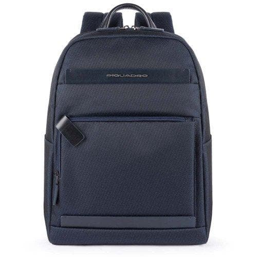 Piquadro Klout Medium Computer Backpack Dark Blue