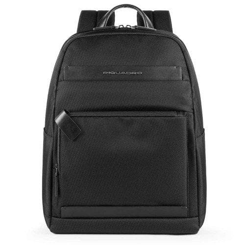 Piquadro Klout Medium Computer Backpack Black