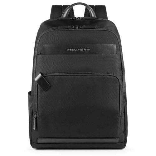 Piquadro Klout Computer and Tablet Backpack Black
