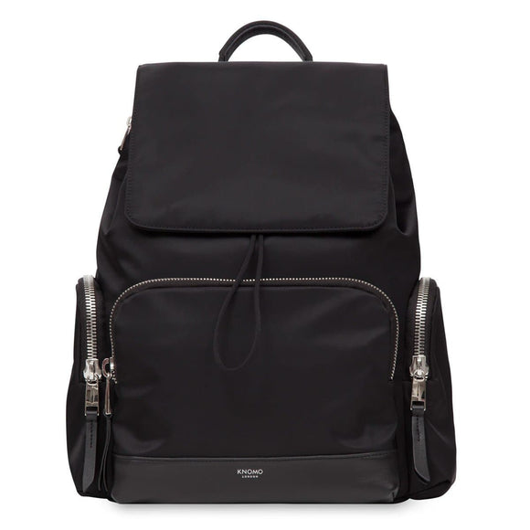 KNOMO MAYFAIR CLIFFORD RUCKSACK 13 INCH BLACK